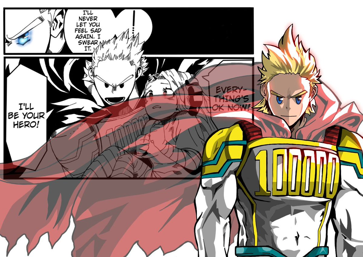 """""""I'll Be Your Hero"""" -Mirio Togata (Lemillion) This Is The Two Pieces And The One That Combines The Two...I Will Say Transparency In The Cape Was Not Fun To Do LoL #MyHeroAcademia #Mirio #Lemillion #Art #FanArt #Anime #Mangapic.twitter.com/WaDjJzYYmX"""