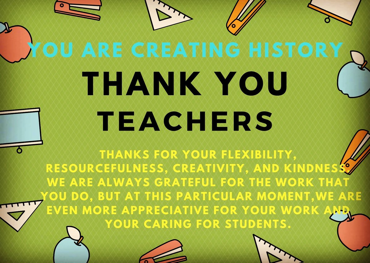 We are so grateful to teachers who are working day and night for their students. THANKYOU TEACHERS FOR YOUR EFFORTS TO CREATE A HISTORY AS THIS WAS NOT EVEN THOUGHT BEFORE MARCH 2020. #dedicated #TeachersForTeaching #march2020 #createdhistory #hatsoff , #klassikkinshuk
