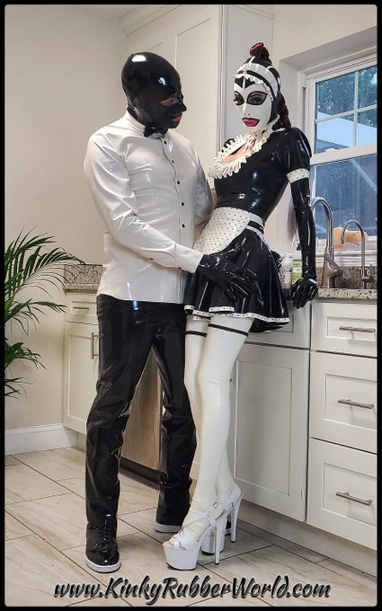 The #Rubbermaid was put to work but the house master wanted to show her to the world first. @rubber_jeff_