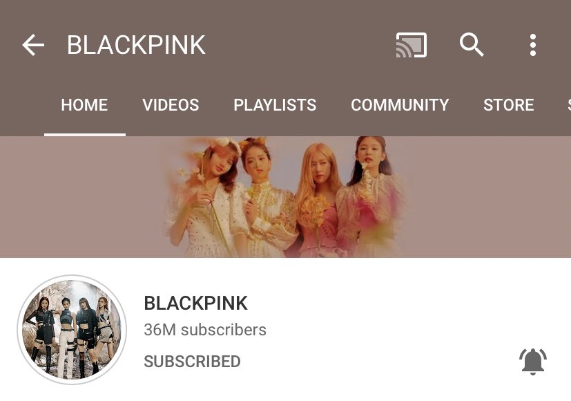 .@ygofficialblink has surpassed 36 MILLION subscribers on YouTube.<br>http://pic.twitter.com/KePVbiumeW