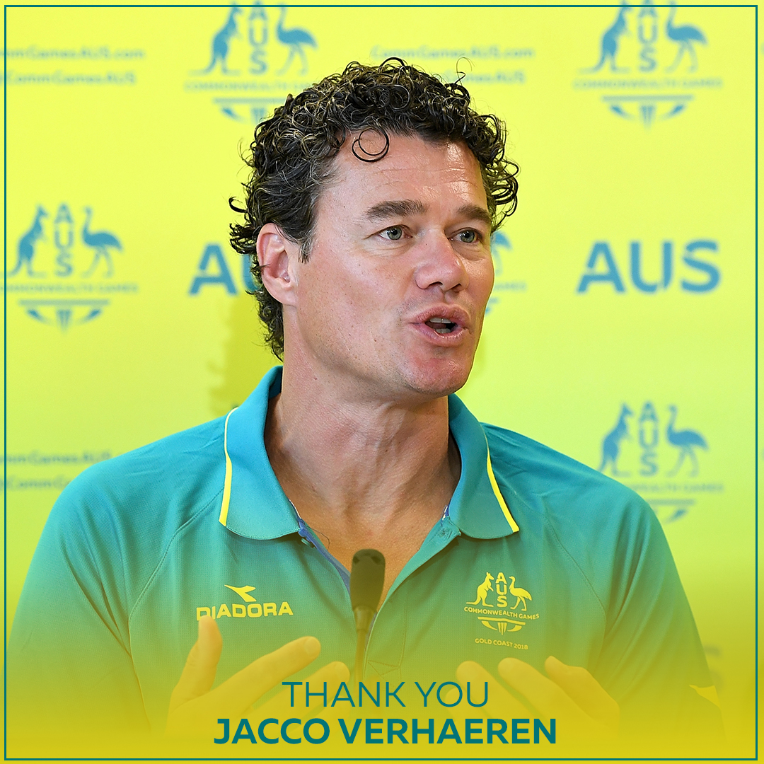 Head Coach Jacco Verhaeren led the @SwimmingAUS @DolphinsAUS team to our most successful Commonwealth Games meets, in 2014 & 2018. We wish Jacco well, and wish the best to new head coach and three-time Commonwealth Games coach Rohan Taylor.  #ThankyouJacco https://t.co/cMWuUpVWhU https://t.co/teKuH37Ohg