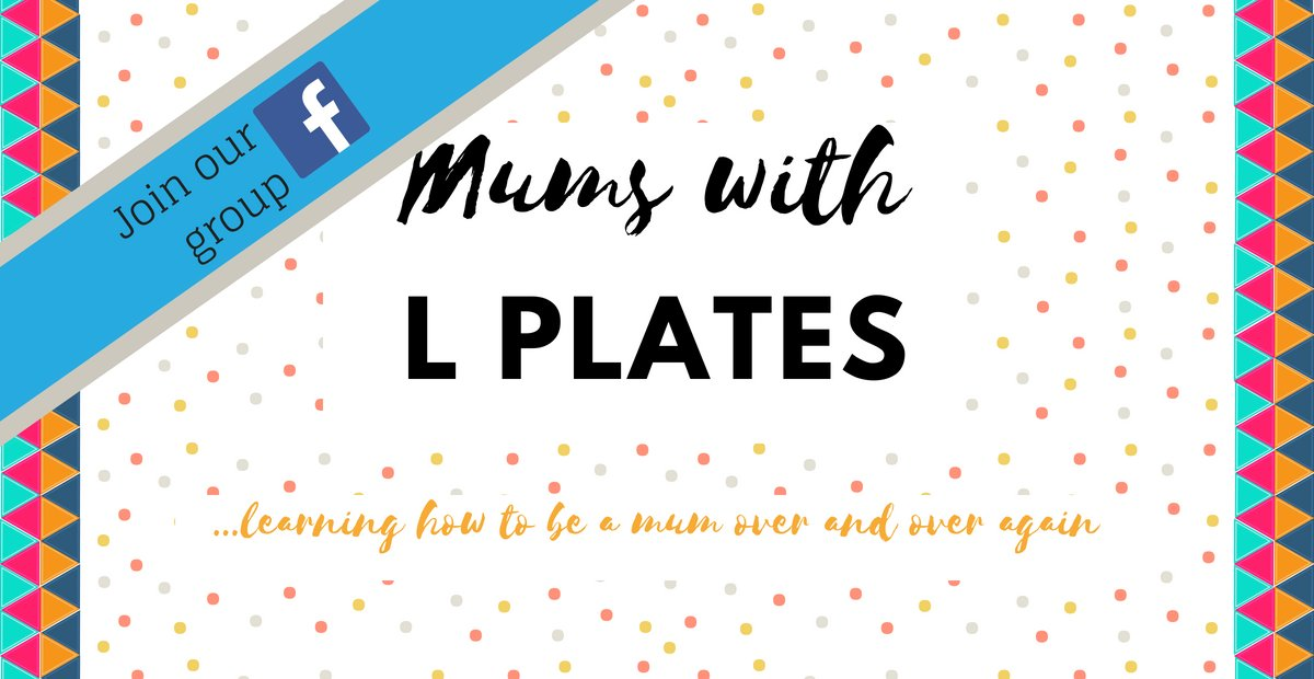 You just work out how to breastfeed & they want solids. You just work out Peppa Pig & they discover Paw Patrol. We mums are always learning. This post is all about a new FB group - Mums With L Plates! #supportnetwork #mumlife http://bit.ly/2kkVJrmpic.twitter.com/V8JlFjMU1w