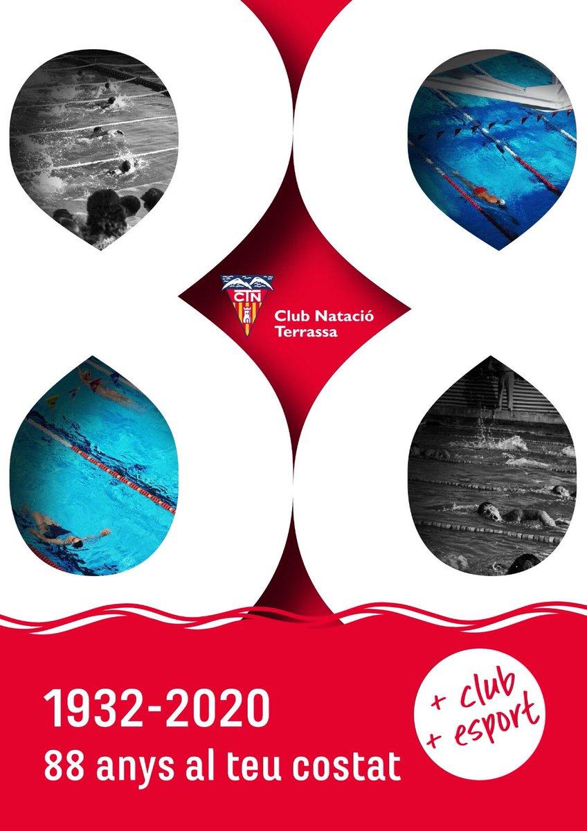 Avui, 3 de juny, el Club Natació Terrassa commemora 88 anys d'existència. Hi érem en el passat, hi som en el present i hi serem en el futur.  Moltes gràcies a totes i tots per acompanyar-nos en aquest viatge! https://t.co/URSjo3foy1 https://t.co/GcKsp5Zjo1