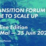 Image for the Tweet beginning: La 3ème édition du #TransitionForum,