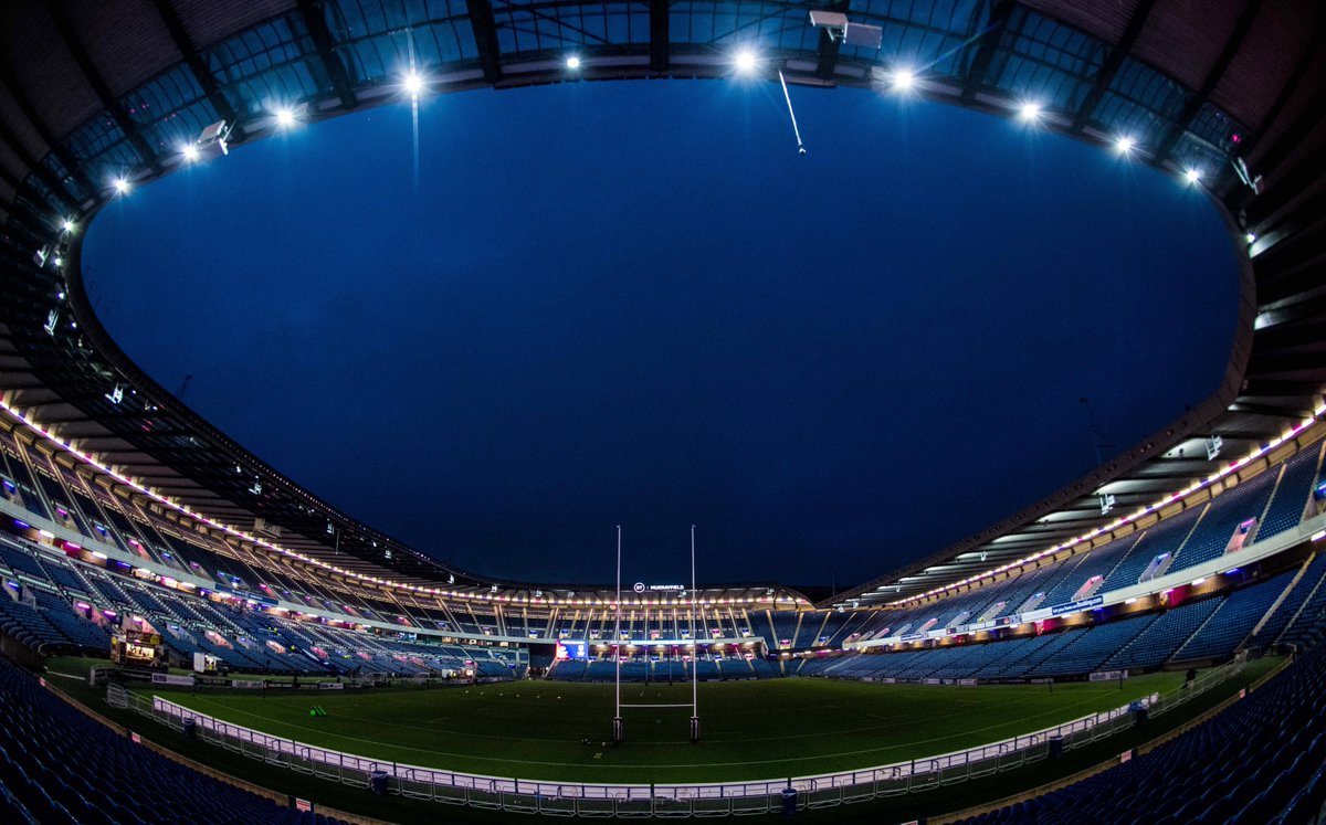 Our home 😍 We can't wait to return to BT Murrayfield...