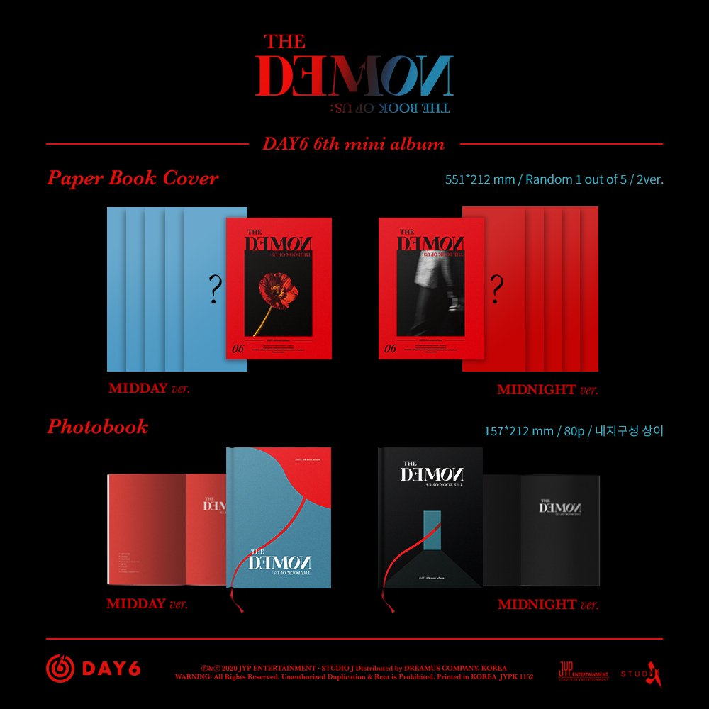 [PH GO] #PKRPHGOs  DAY6 The Book of Us: The Demon Extra Albums  — Php 590 each (ALL-IN) + SF — with POB & Poster — 20 stocks for Midday only  — NORMAL ETA — DOP: June 14, 2020   BATCH 1 BOX  ETA: End of June    https:// pasabuykrtoph.com/products/pre-o rder-day6-the-book-of-us-the-demon  … <br>http://pic.twitter.com/EoJ8SkfdLg