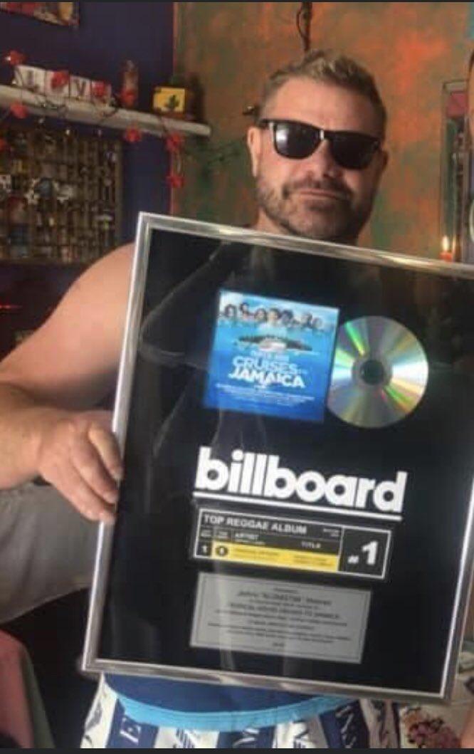 One year ago today I received my @billboard number 1 plaque! Now we are about to do it again !! @contractor4 #TropicalHouseCruisesToJamaica headlined by #ShattaWale @shattawalegh #VybzKartel #Sizzla #Capleton #Beenieman #Dababy #Royce59 @HerbertSkillz_  @KingTigerBx1 @AliStarr856 https://t.co/dp9XhUh4y7