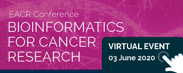 This afternoon we are hosting our second sold out EACR virtual conference on Bioinformatics for Cancer Research. We are looking forward to talks from @nlbigas @SerenaNikZainal @nikolausschultz & @Francesco_i0ri0!   #EACRbioinformatics #EACRvirtualevents https://t.co/2cUmDw7sfD