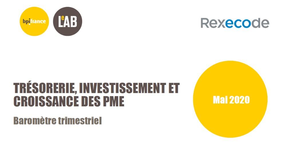 [#BaromètrePME] 📉 L'impact de la crise du #Covid19 sur les #PME : Compte tenu des dispositifs mobilisés, 7% des PME s'attendent à rencontrer des difficultés de trésorerie insurmontables. + de résultats dans le baromètre de @BpifranceLeLab et @Rexecode 👉 https://t.co/QuiizMhNAu https://t.co/jIwAjUKHi1