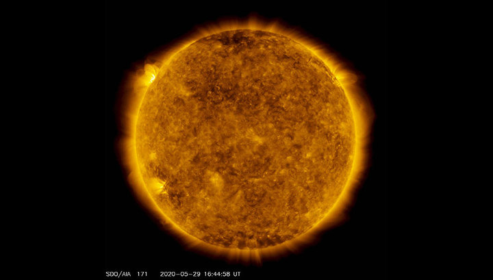 The largest outbreak in a few years occurred on the #Sun #Science