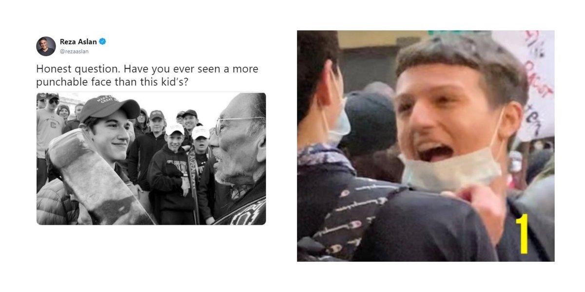 @MrAndyNgo @Cernovich @PortlandPolice Chances of him getting the Nick Sandmann treatment https://t.co/HQmCgajAkU
