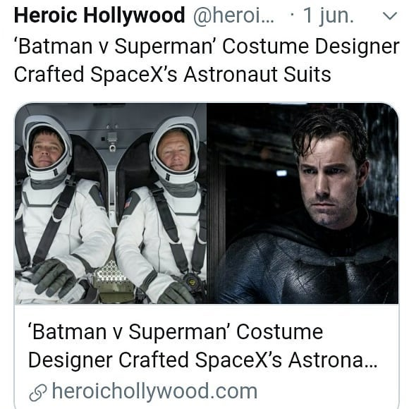 Now Bloggers are writing that   1. why SpaceX astronaut Suit fail  2. 10 Reason that SpaceX fail to make Astronaut Suit 3. Everything wrong with SpaceX astronaut Suit  etc.... etc.... <br>http://pic.twitter.com/GwwExrdPRO