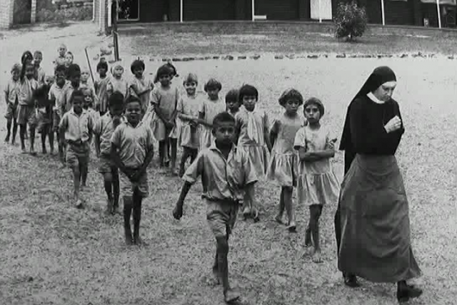 Children taken from their parents as part of the Stolen Generation were taught to reject their Indigenous heritage, and forced to adopt white culture.