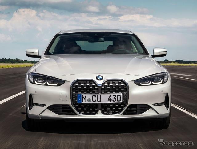BMW 4シリーズクーペ 新型、縦長グリル採用…欧州発表#新型車 #BMW #4シリーズ