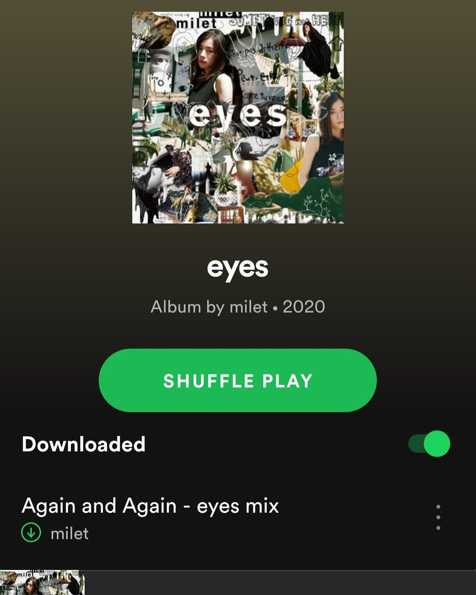 @milet_music And it's amazing 💕 Can't stop listening ❣ Thank you @milet_music ❤ 3 songs produced by Toru from @ONEOKROCK_japan 👌🔥 #milet #eyes #Toru milet 1st full album『eyes』now on sale!