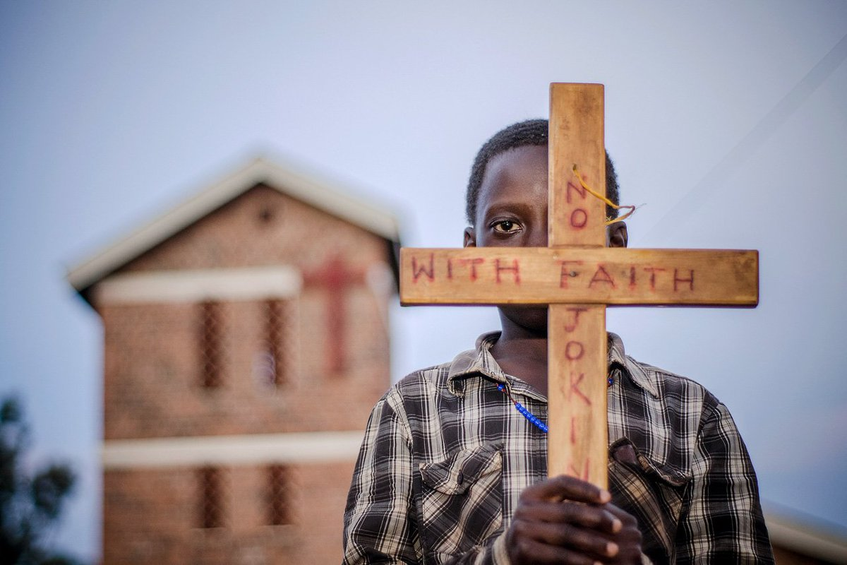 "Today we commemorate the Uganda Martyrs Day. While we can't do this like we used to, we can look back on the times we were not restrained.   @Katumbabadru1's  story ""No Joking with Faith"" was 2nd in the first ever East African Photography Award.  http://ugandapressphoto.org/eapa-2018-winners-gallery/ …pic.twitter.com/D3SY7Q0oOL"