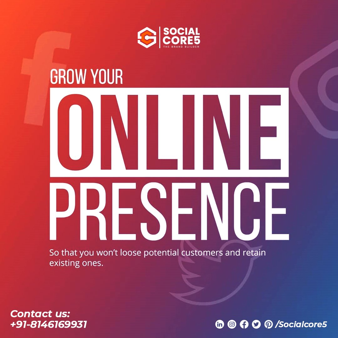 The Most Preffered Agency for your Business to stop losing potential Customers.  #Socialcore5  #digitalmarketing #marketing #socialmediamarketing #socialmedia #seo #business #branding #onlinemarketing #marketingdigital #contentmarketing #entrepreneur #marketingstrategy #Advertise