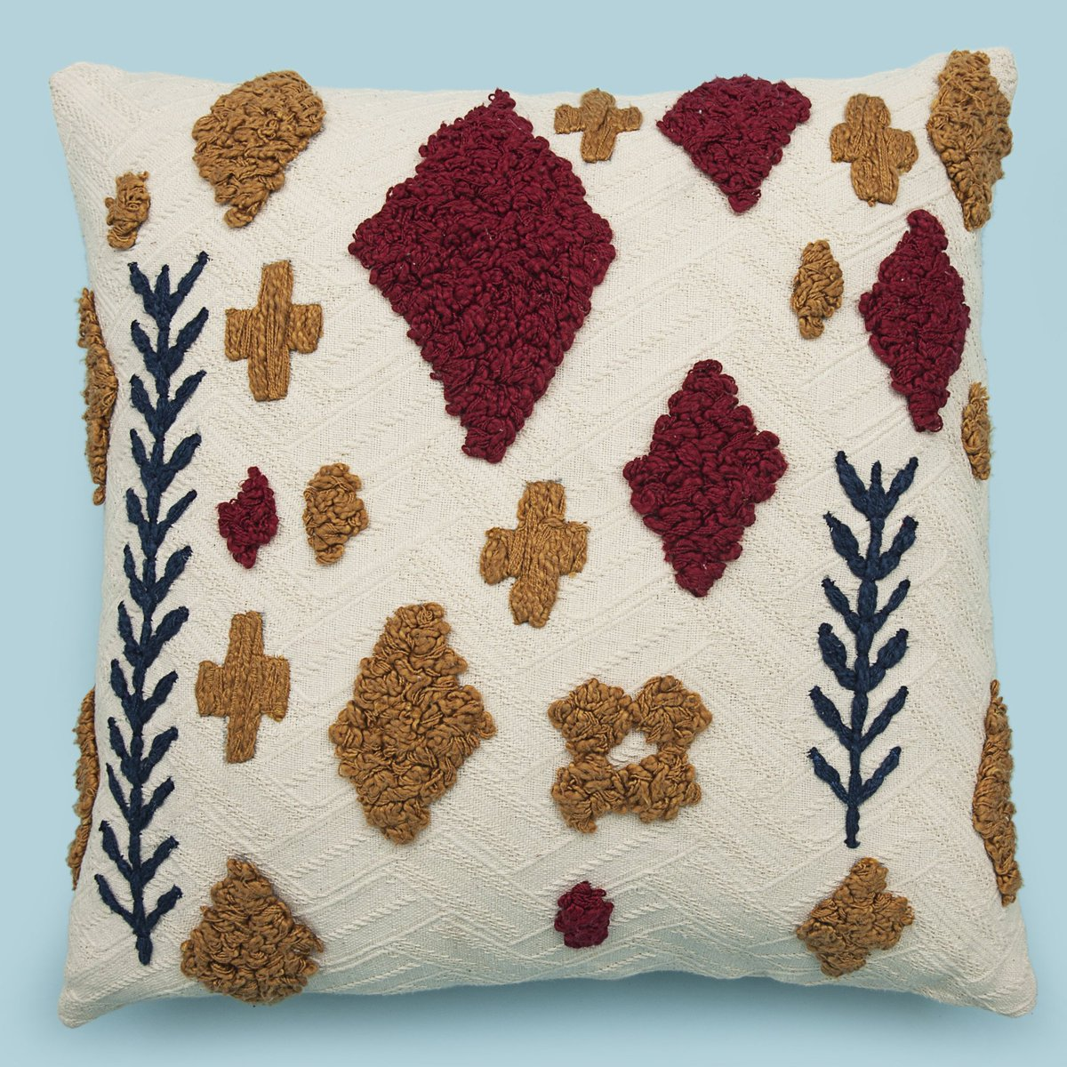Tufted Moroccan Pillow Cover Case  . . . #love #white #followback #instagramers #envywear #tweegram #photooftheday #amazing #smile #follow4follow #like4like #look #instalike #igers #picoftheday #food #instadaily #instafollow #followme #girl #style #swag