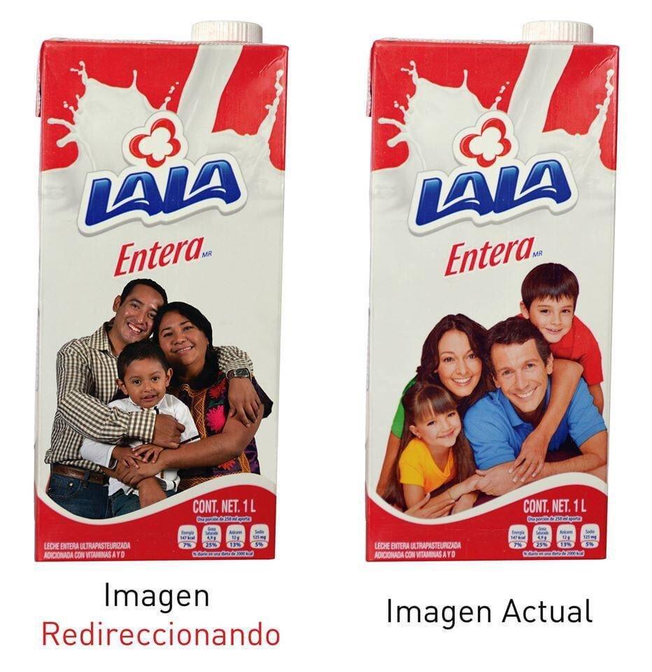 Así es Lala, me gusta gusta mi leche blanca y entera, adornada por una familia blanca y hetera. https://t.co/UFjAYyntPd
