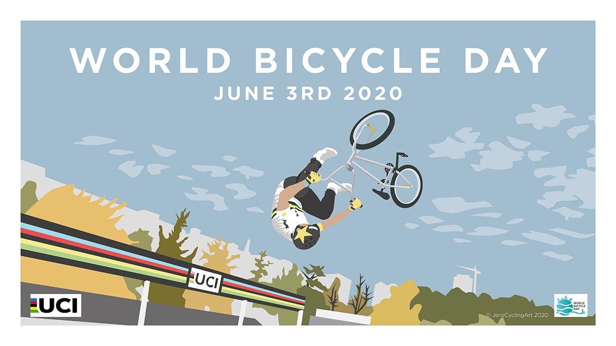 Celebrating #WorldBicycleDay in style!  🤘 https://t.co/pfoJ5oxXRx