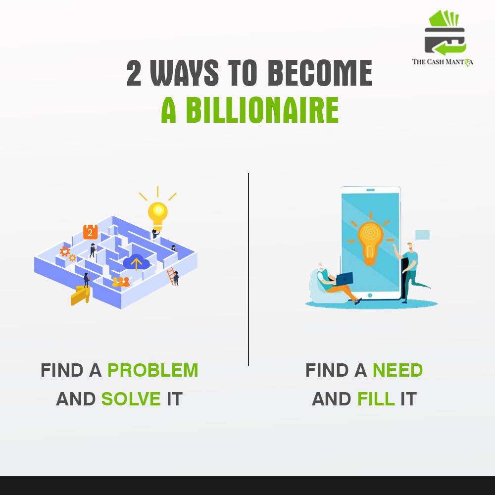2 Ways to Become a Billionaire  #entrepreneurlife #hustle #entrepreneurmindset #businesspassion #businessowners #wealth #buildyourempire #entrepenuer #businessmentor #entrapanuer #entrepreneur