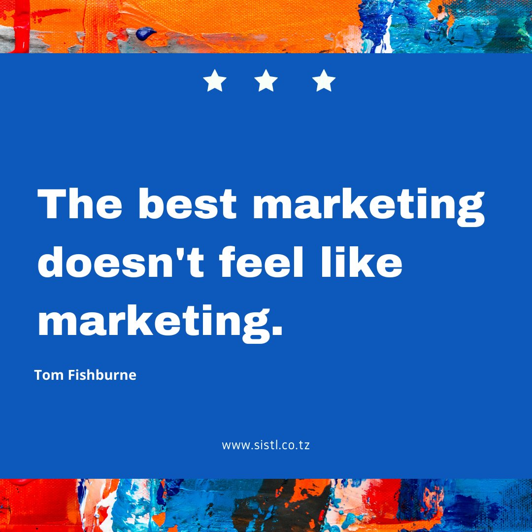 How are you marketing your products or services? #smallbusiness #entrepreneur #tanzania