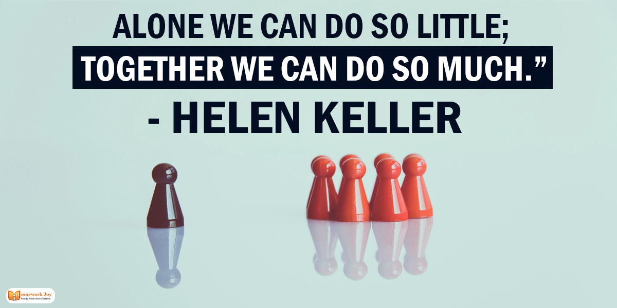 Helen Keller Quotes  Read More :   #alone #together #education #quotestoday #homeworkjoy