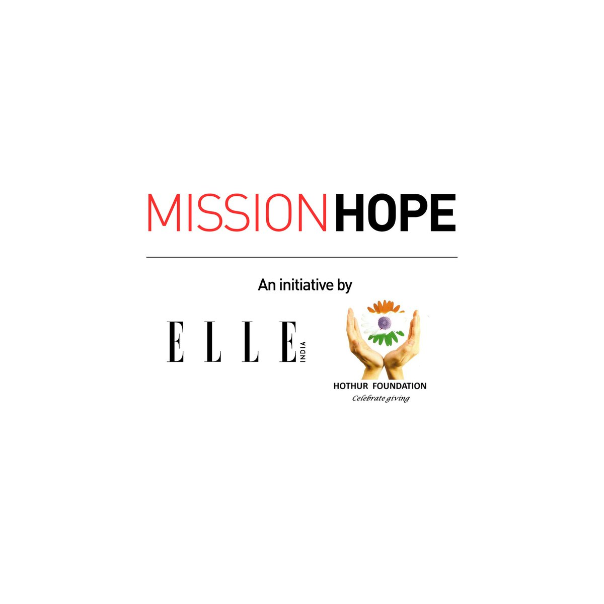 Photography by: Bjorn Wallander  Additional credits: Kulsum Shahdab Wahab, Ara Lumiere  . *Name changed to protect identity  . #MissionHope #ELLEIndia #HothurFoundation #Hope #Patience #Love #Faith #Community #LetsHangInThere #ItWillGetBetter #TogetherWeCan #TogetherWeWill