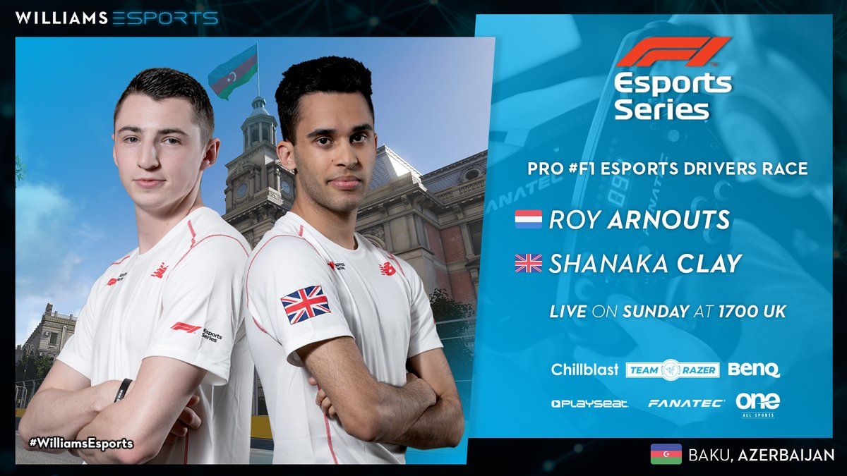 #F1Esports   You voted, you decided. 🤝  @VisceralRacing driver, @VSR_Infamous 🇬🇧 will make his #VirtualGP debut this weekend alongside @WilliamsJIM_'s @WilliamsJIM_Roy 🇳🇱!  🗓️ LIVE on Sunday at 1700 UK.  #WilliamsEsports #SimRacing #Esports https://t.co/QsSuQHzoDf