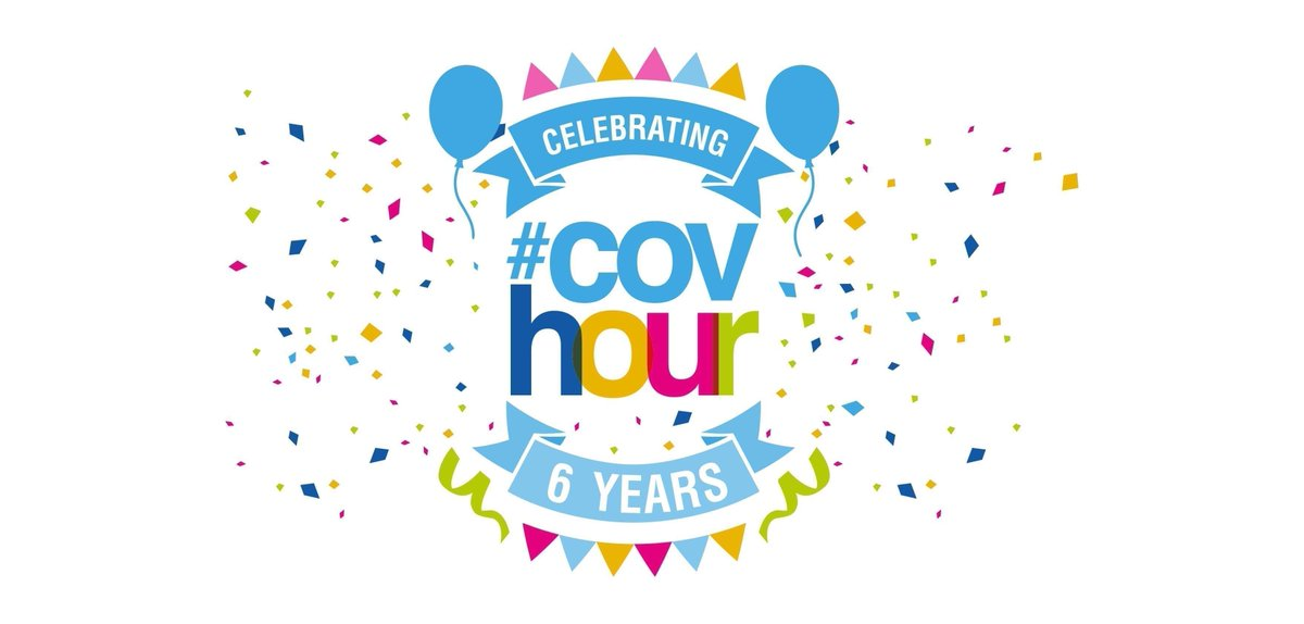 It's #covhour on Twitter Thursdays from 8-9pm. We are local #networking #community for #coventry- hope you can join us. #getinvolved