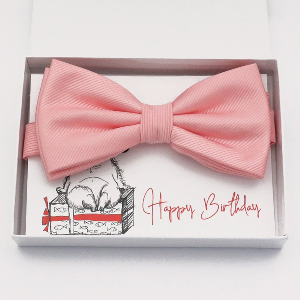 Blush bow tie Best man Groomsman Man of honor ring bearer request gift, Kids adult bow, Adjustable Pre tied High quality #wedding #pink  #toddlerbowtie #bestmangift #bestmanbowtie #manofhonor #bestmanrequest #manofhonorgift #blushwedding #blushbowties