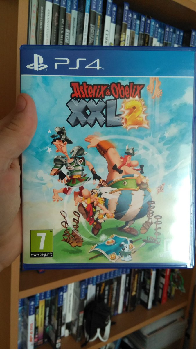 Hello Folks, Been yesterday on hunt and got #asterixobelixxxl2 #PS4 to my #gamecollection roster. Been seeing it quite lately on net and didn't expect to show on my local store.  #gamecollector #gamecollectors #gamer #gamers #collectors #collector #videogame #videogames #gamepic.twitter.com/TrjuDF98Y8