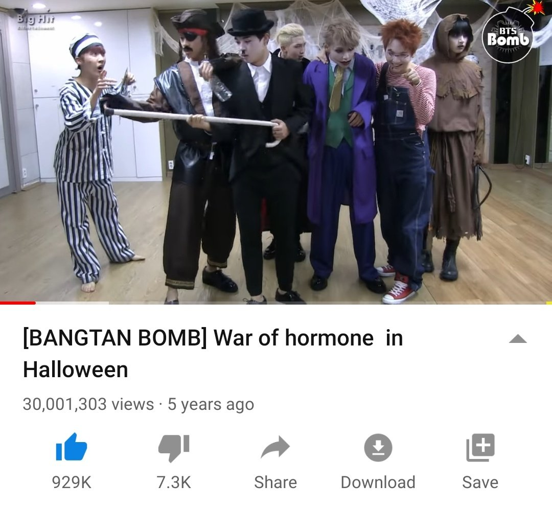 War of hormone in Halloween dance video has surpassed 30M views   https:// youtu.be/ZxEly3yz-1g    <br>http://pic.twitter.com/F59dwriX66