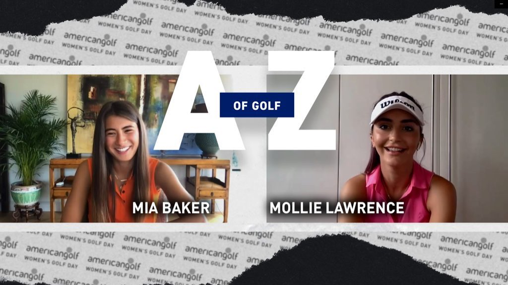 Engage. Empower. Support. - A Digital Celebration #WGDUnites🏌️♀️   We've teamed up with @miaellax & @mollielaw123 to create an A-Z of golf terms to celebrate Virtual #womensgolfday 👊  WATCH the full video now! 👉  Women's Golf Day #americangolf