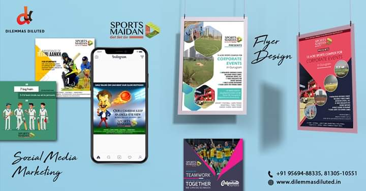 """Our client """"@SportsMaidan"""" was able to attract a huge #audience for their yearly event '#CorporateOlympics' through the best in class online marketing strategies and creative designing.  #ourcreatives #ourartwork #design #graphicdesign #socialmediagraphics #socialmediamanager https://t.co/B0EzwjwFrN"""