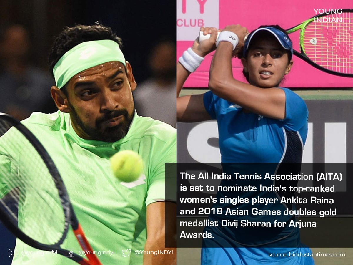 The national tennis federation is also planning to nominate former #DavisCup coach Nandan Bal for the Dhyan Chand honour, claim reports. Sharan won two ATP titles in the #2019 season. #AITA #2020 #TennisShoes #TennisPlayer #YoungIndian #YI https://t.co/WUBOOiRCRk