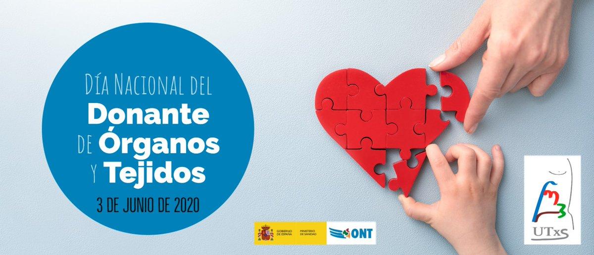 🧩Feliz #DíaDelDonante de Órganos, Tejidos y Células a todos los donantes y familias.   ➡️Los datos anuales de donación demuestran que la sociedad española es solidaria y comprometida. El 86% de las familias dice sí a la #donación.  🗞️Nota de prensa: https://t.co/mibcGFtlRr https://t.co/nhnzDJwaSC
