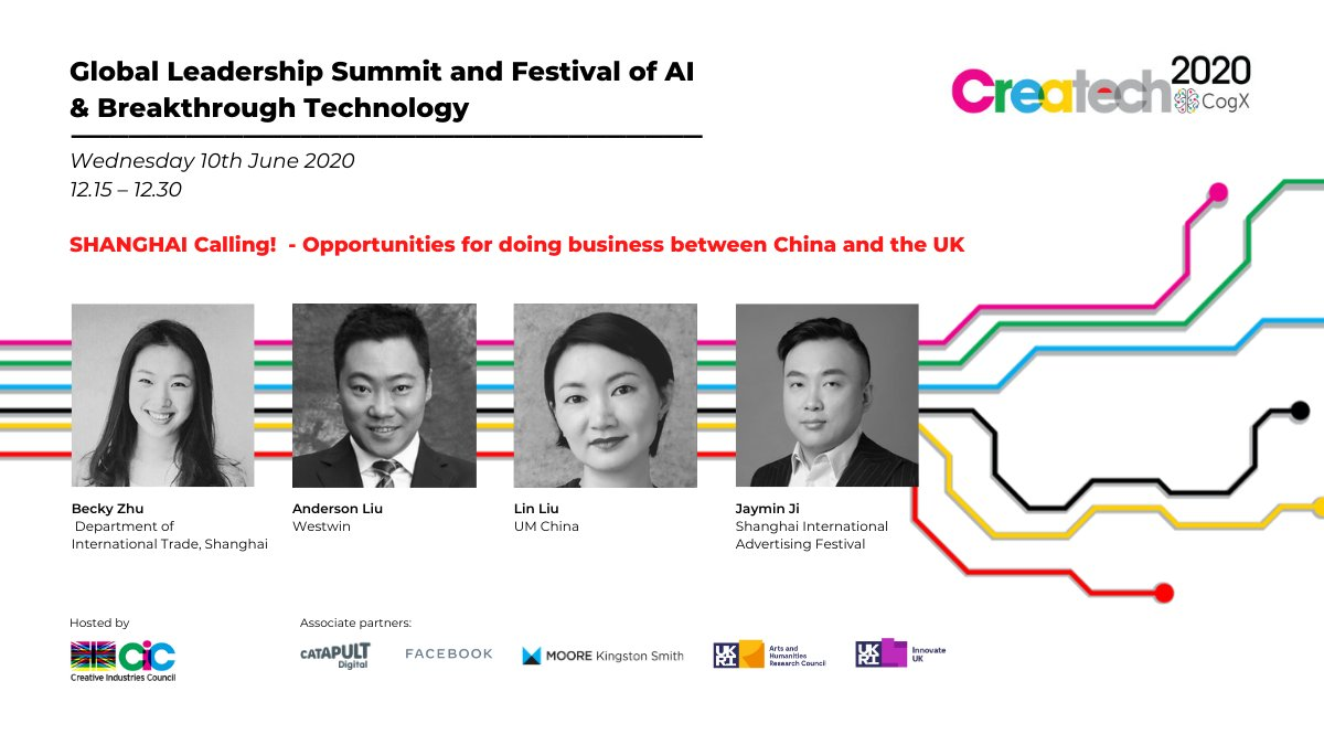 Great to also welcome a virtual mission of  18 Chinese Createch companies keen to business with the UK @ad_association @tradegovuk #CreativityIsGREAT #createch https://t.co/wDZfH3pcmN