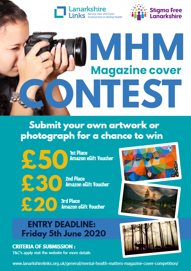 Entries for this creative competition close this Friday. For your chance to win up to £50 of Amazon E-vouchers see the link below for more info:  Send your entries to sfl@lanarkshirelinks.org.uk #Competition #getcreative #photography #art #illustration