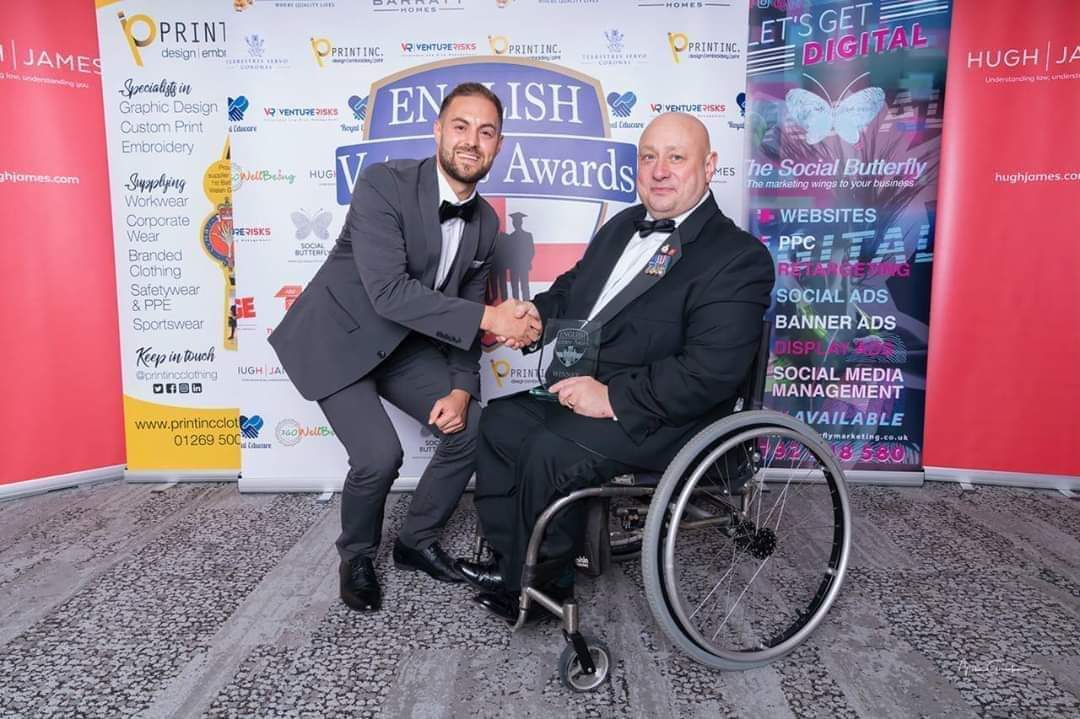 Do you know a #Military #Veteran thats doing great things in the community? Could they be one of our amazing finalists in our Community Award Category at the English Veterans Awards? If so apply or Nominate today at - veteransawards.co.uk/english-vetera…