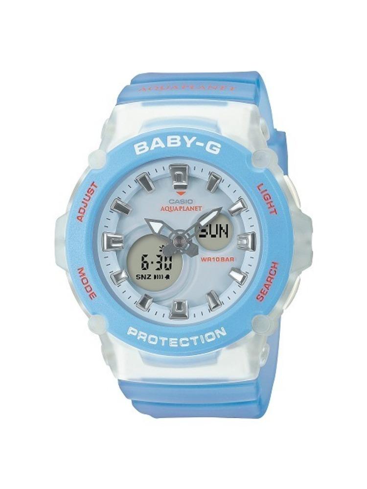 BABY-Gからサンゴが暮らす海を表現した新作腕時計、サンゴ保護団体「アクアプラネット」とコラボ -