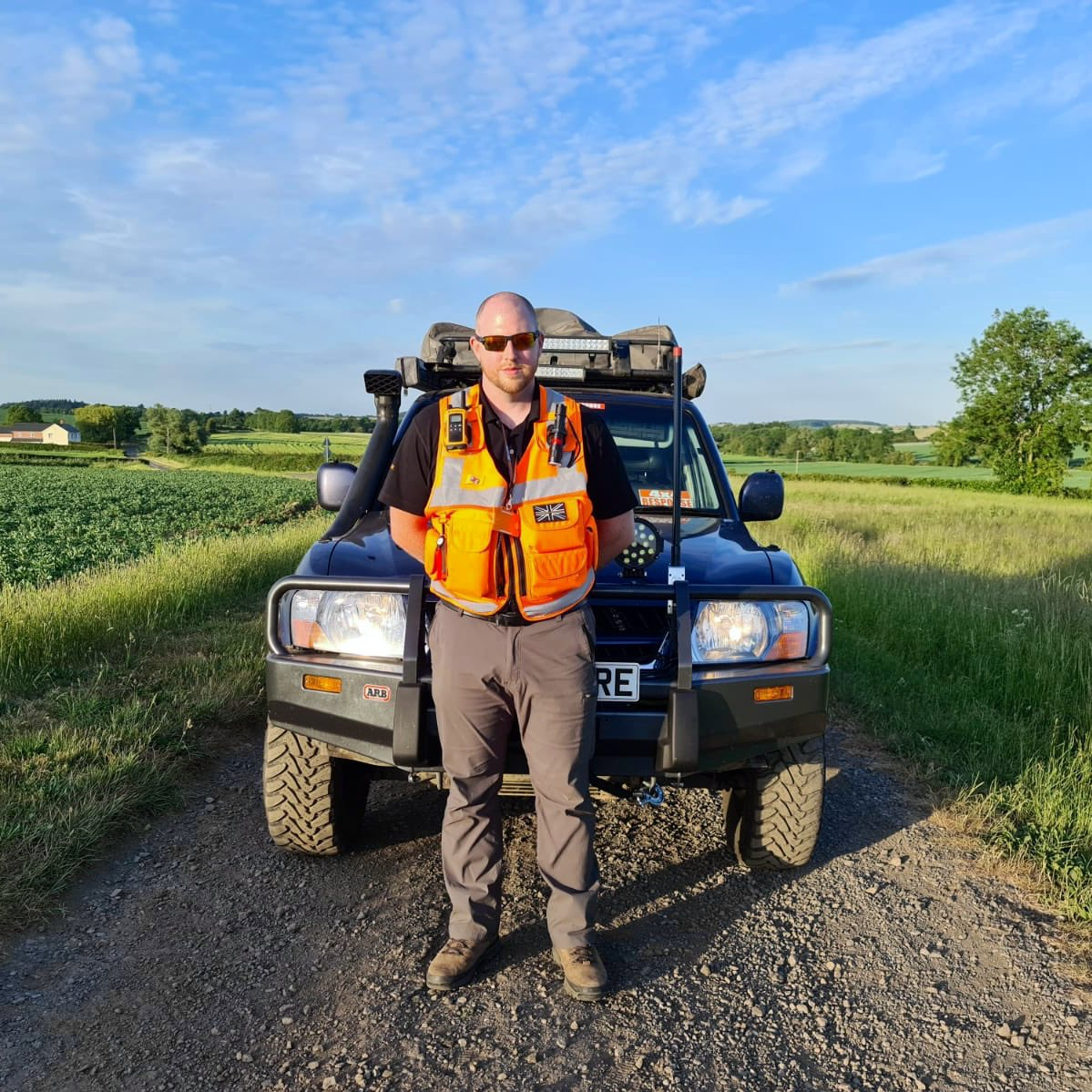 It's #VolunteersWeek, and we want to say thank you to our amazing team. Andrew is a recruitment manager and overland adventurer, but has been using his Shogun to deliver food packs and prescriptions, as well as stopping by to check on the welfare of those who are vulnerable.