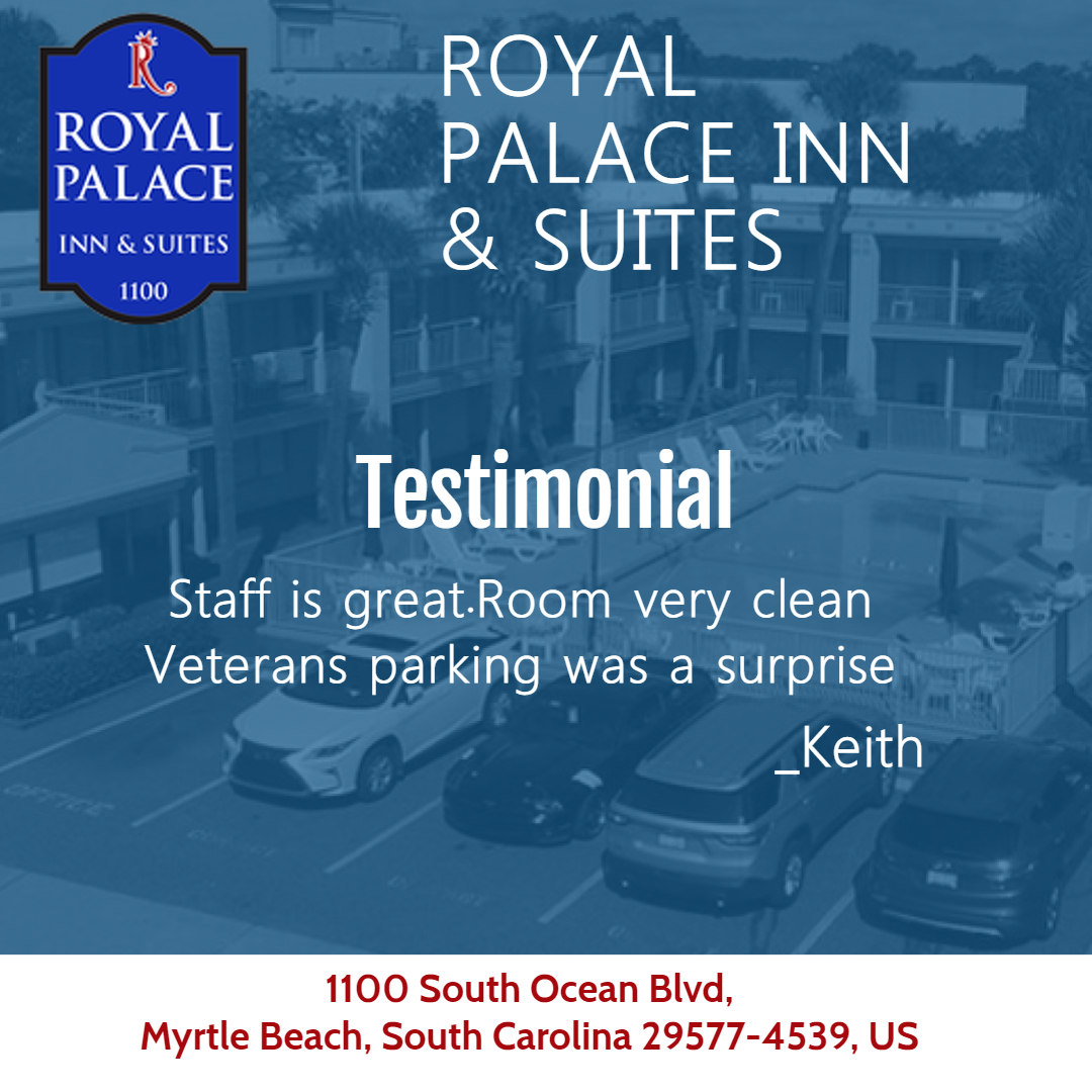 Royal Palace Inn & Suites Client diaries:Staff is http://great.Room  very clean Veterans parking was a surprise #travel #travelblog #travelblogger #vacation #holiday #traveling #traveler #tourist #tourism #trip #explore #adventure #travelphoto #wanderlust #traveldiariespic.twitter.com/0Zx8Ng08ED