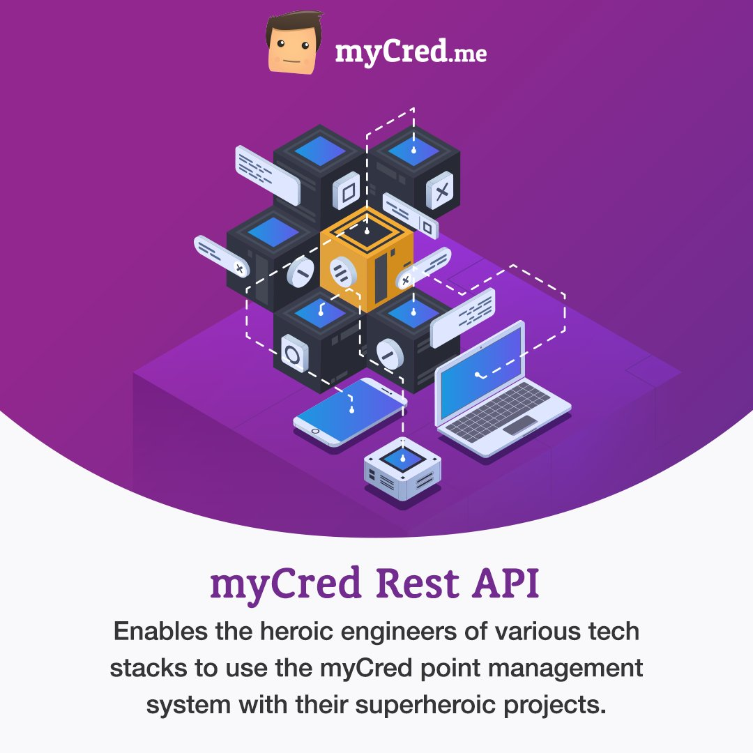 Hello Techies!! Gamify your superheroic projects by executing point-related commands remotely using myCred Rest API.   Whether you are an Angular Ninja, React Rockstar, or Ruby Gem.  Download Now: https://bit.ly/2XVHzAC  #myCred #restapi #techprojects #gamification #wordpresspic.twitter.com/g5oFNQDDVH