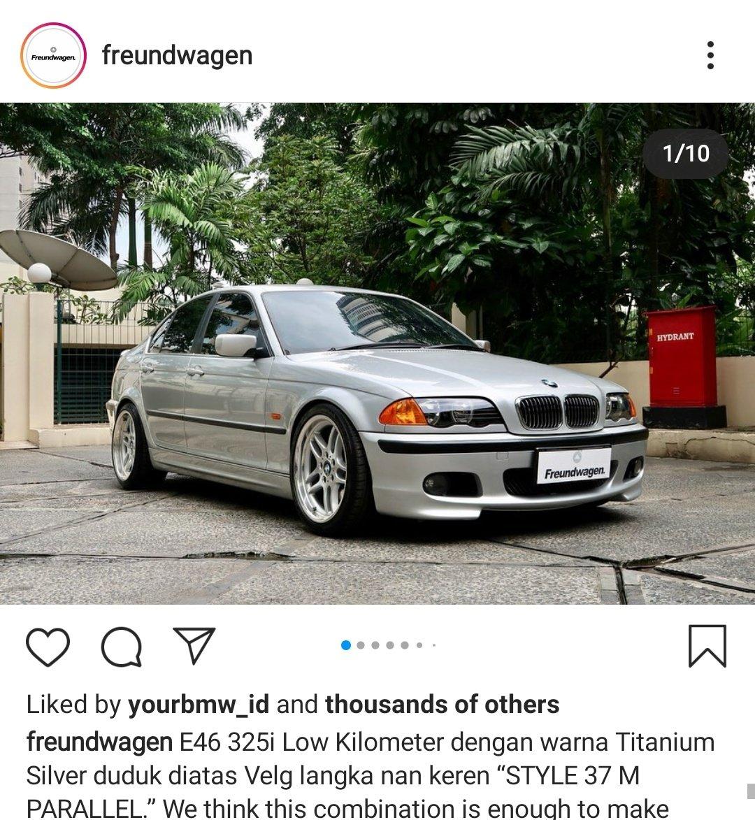 BMW E46 lama lama cakep ya. Timeless gitu. Buat pemula, kalau E36 dirasa tua, E46 bisa jadi pilihan. E90? Di forum-forum katanya banyak troublenya. F20? Masih mahal pic.twitter.com/L45F4Nts5X