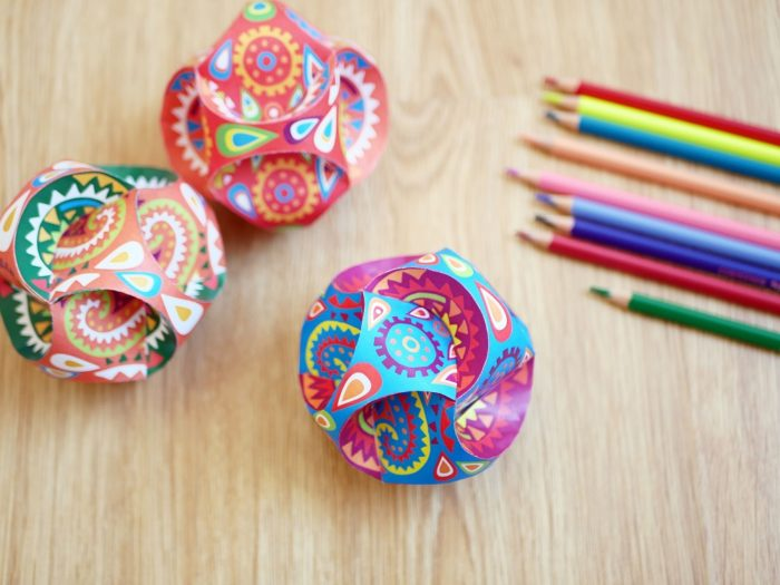 Try our fun activity making stunning mandala globes to decorate your home! Find out how here:  #Getcreative