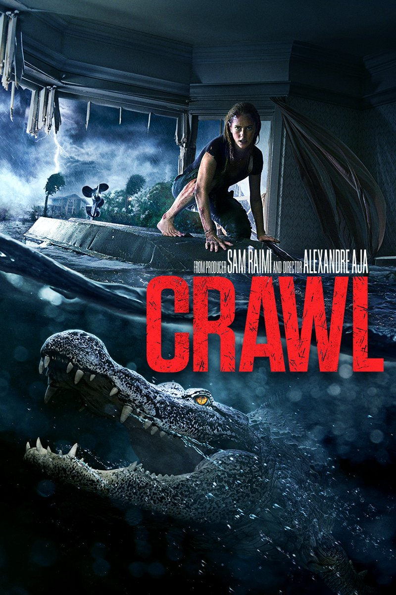 Morning everyone. Watched this last night. I have to say, I can't swim so the water is scary enough for me. Alligators are a bonus!  #scarymovie pic.twitter.com/AjRYlRhbc8