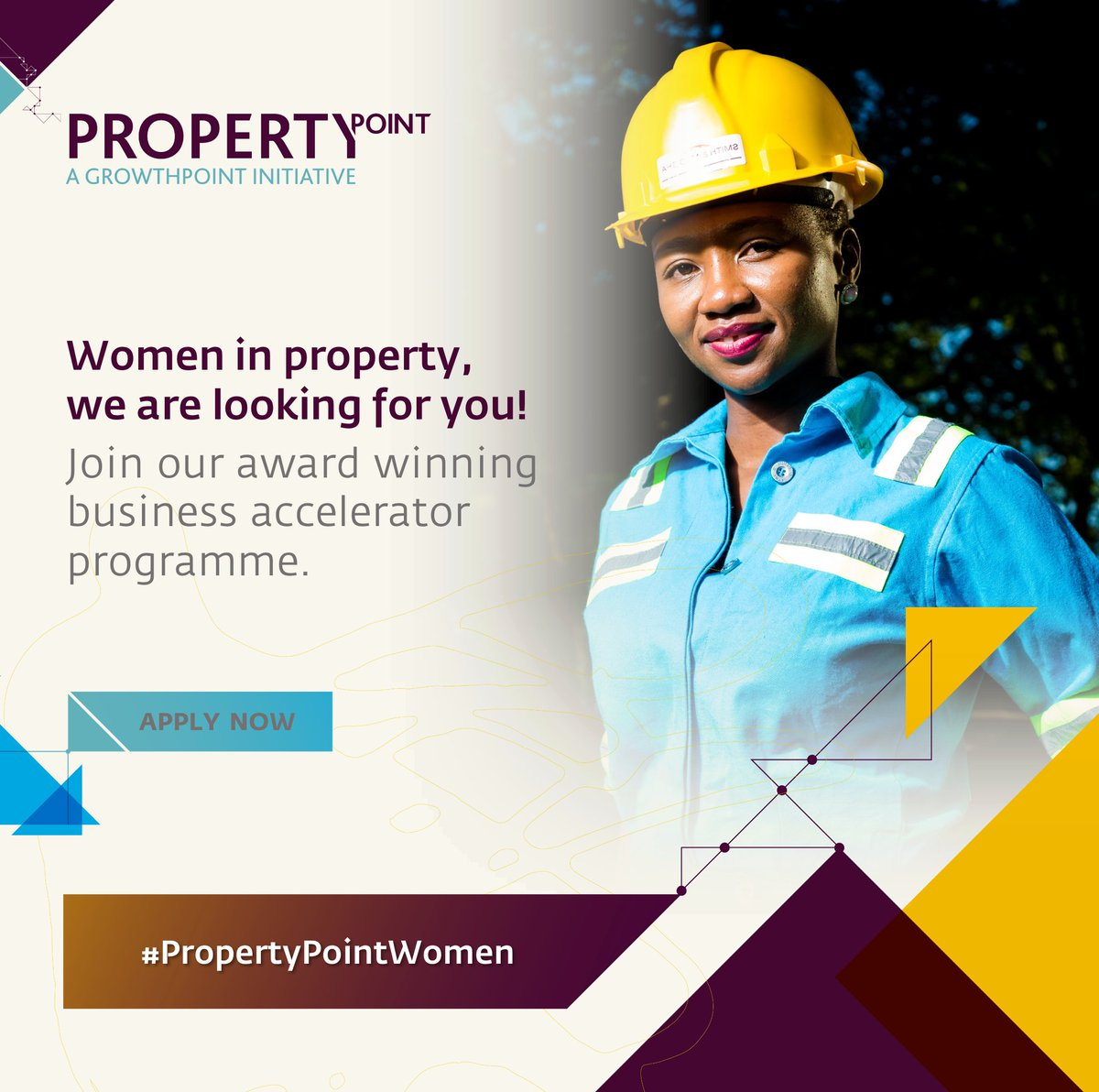 We are looking for 15 women lead businesses in the property sector from Johannesburg, Cape Town & KwaZulu-Natal to take to the next level! https://t.co/pfsgmssQmL