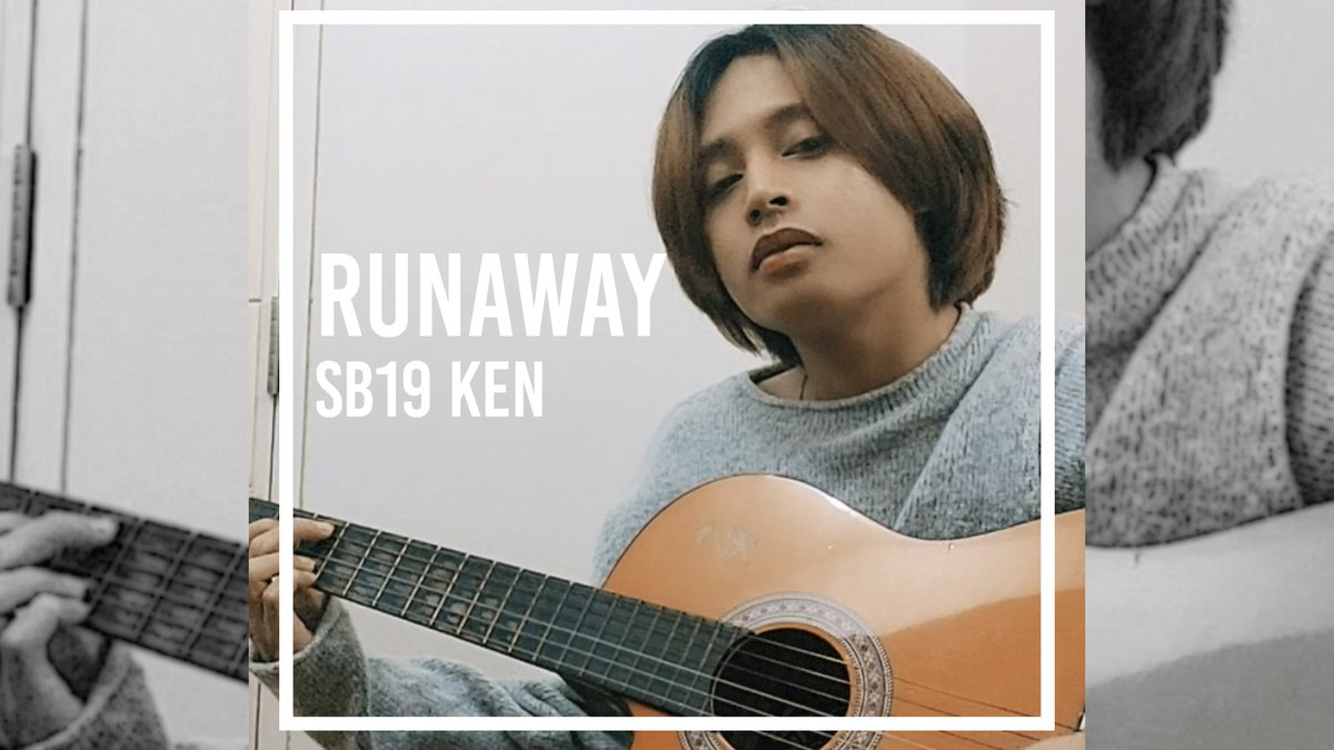 [NEW VIDEO] Sorry to keep you waiting! Heres Ken covering Runaway by Corrs because he missed you so much! LINK: youtu.be/YUpaeh4Ef6Q #SB19 #SB19KenCover #SB19_KEN