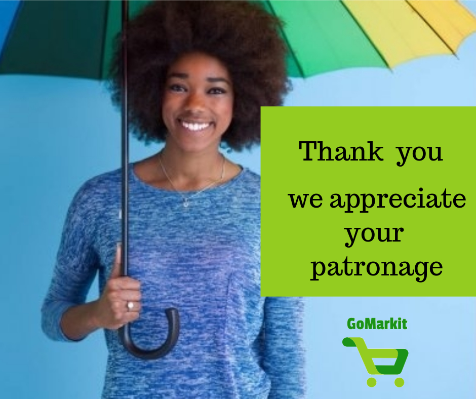 We are truly grateful to you for choosing us as your online grocery store and giving us the opportunity to grow. We cannot achieve this without you as our customer.  Thank You All !  #stayHome #staySafe #freetown #Salone #agribusiness #agroinnovation #farmersmarket https://t.co/2Lpqv3Ls96
